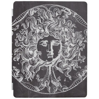 vintage chalkboard Greek mythology Gorgon medusa iPad Smart Cover