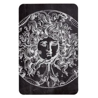 vintage chalkboard Greek mythology Gorgon medusa Magnet