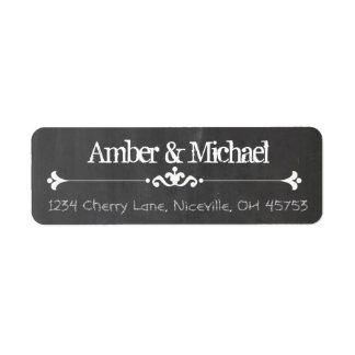 Vintage Chalkboard Label