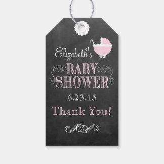 Vintage Chalkboard Look- Baby Shower Pack Of Gift Tags
