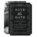 Vintage Chalkboard | Save The Date Photo Card