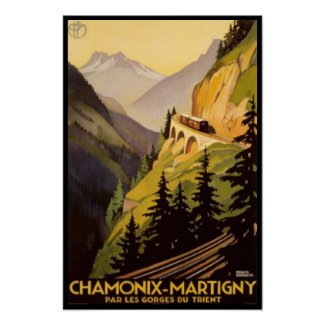 Vintage Chamonix-Martigny Travel