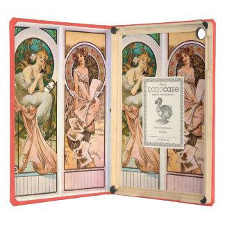 Vintage Champagne Calendar Art iPad Air Cover