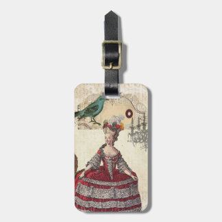 Vintage Chandelier french queen  Marie Antoinette Bag Tag