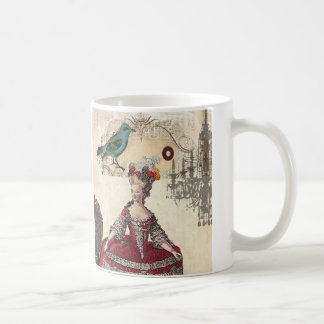 Vintage Chandelier french queen  Marie Antoinette Coffee Mug