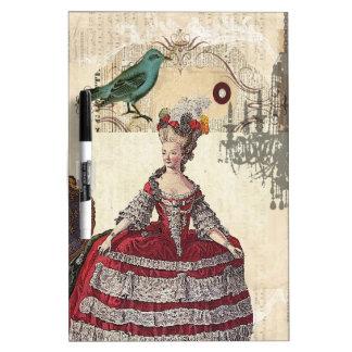 Vintage Chandelier french queen  Marie Antoinette Dry-Erase Board