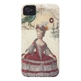 Vintage Chandelier french queen  Marie Antoinette iPhone 4 Case