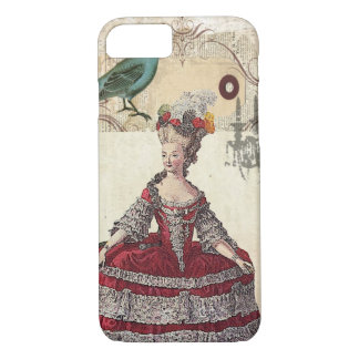 Vintage Chandelier french queen  Marie Antoinette iPhone 7 Case