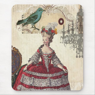 Vintage Chandelier french queen  Marie Antoinette Mouse Pad