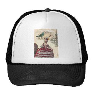 Vintage Chandelier french queen  Marie Antoinette Trucker Hat