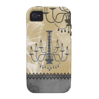 Vintage Chandelier Gladiola Case iPhone 4/4S Cover