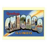 Vintage Change of Address, Chicago, Illinois Postcards