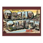 Vintage Change of Address, Grand Canyon Travel Postcards