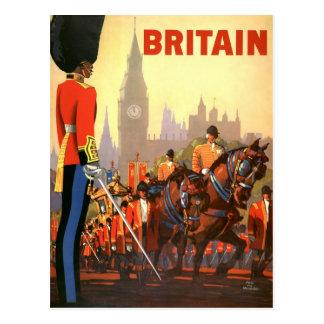 Vintage Change of Address, Great Britain England Postcard