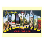 Vintage Change of Address, Hollywood California Post Cards