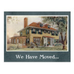 Vintage Change of Address Postcard