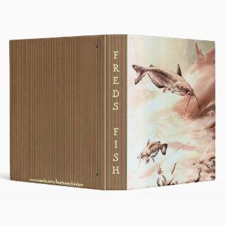Vintage Channel Catfish Notebook Avery Binder