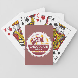 Vintage Chaplins Dairy Bottle Cap Playing Cards