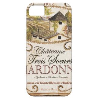 Vintage Chardonnay Label iPhone SE/5/5s Case