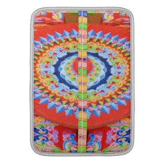 VINTAGE Chariot Wheel - Festivals Rajasthan India Sleeve For MacBook Air