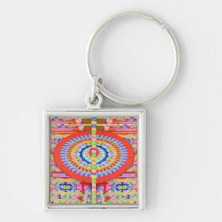 VINTAGE Chariot Wheel - Festivals Rajasthan India Keychain