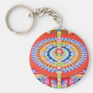 VINTAGE Chariot Wheel - Festivals Rajasthan India Keychains