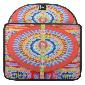 VINTAGE Chariot Wheel - Festivals Rajasthan India Sleeve For MacBook Pro