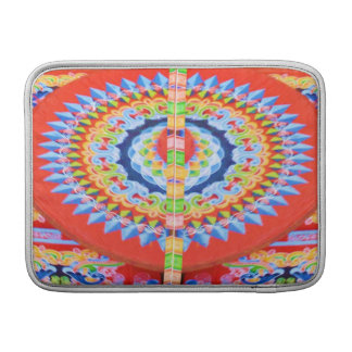 VINTAGE Chariot Wheel - Festivals Rajasthan India MacBook Sleeve