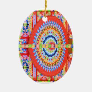 VINTAGE Chariot Wheel - Festivals Rajasthan India Christmas Tree Ornament