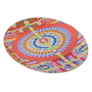VINTAGE Chariot Wheel - Festivals Rajasthan India Dinner Plate