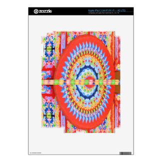 VINTAGE Chariot Wheel - Festivals Rajasthan India Decal For iPad 3