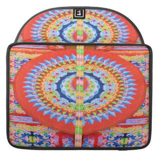 VINTAGE Chariot Wheel - Festivals Rajasthan India Sleeve For MacBooks