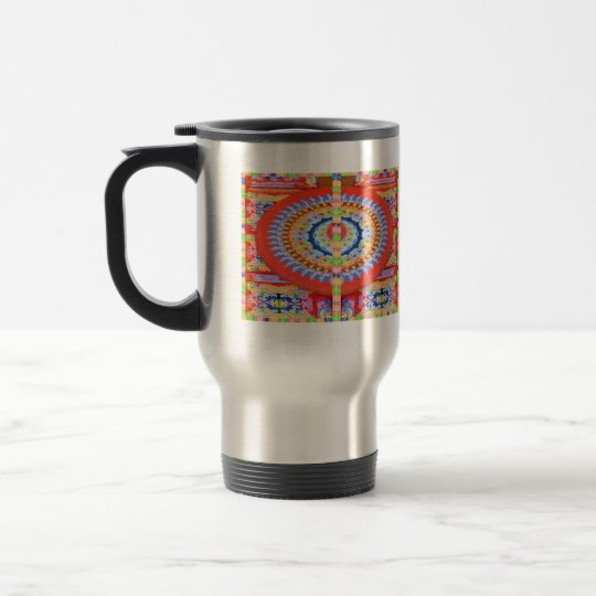 VINTAGE Chariot Wheel - Festivals Rajasthan India Travel Mug