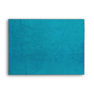 Vintage Charm Blue & Red Custom A7 Envelope
