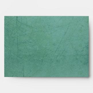 Vintage Charm Chocolate Blue A7 Envelope