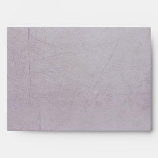 Vintage Charm Striped Lilac Custom A7 Envelope