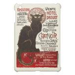 Vintage Chat Noir, Vente Hôtel Drouot Steinlen iPad Mini Case