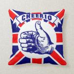 Vintage Cheerio Almohadas