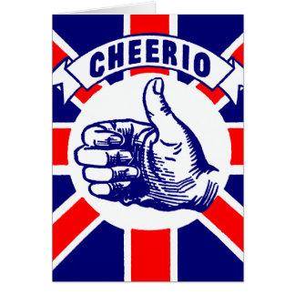 Vintage Cheerio Card