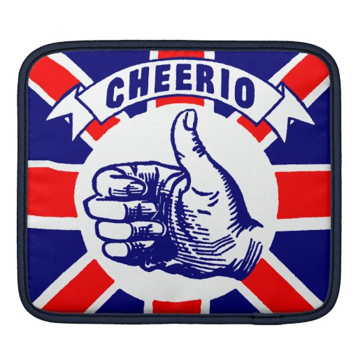Vintage Cheerio iPad Sleeve