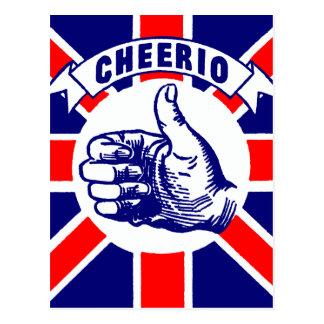 Vintage Cheerio Postcard