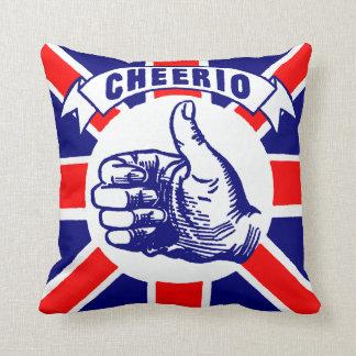 Vintage Cheerio Throw Pillow