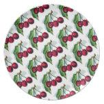 Vintage Cherries Dinner Plate