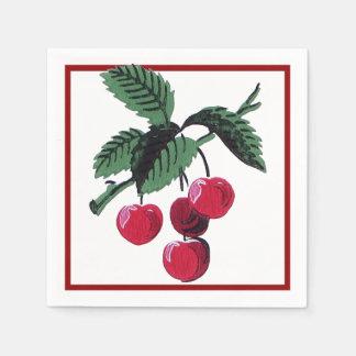 Vintage Cherries Napkin