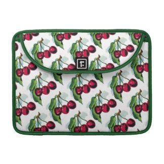 Vintage Cherries Sleeve For MacBooks