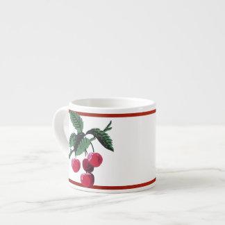 Vintage Cherries Espresso Mug