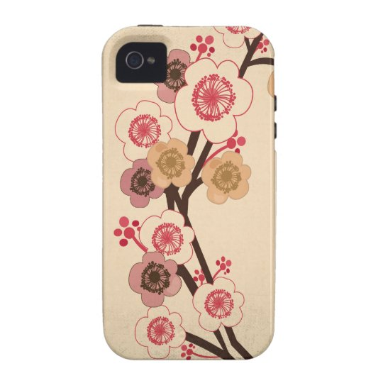 Vintage cherry blossom tree Case-Mate Case