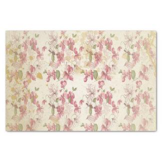 "Vintage Cherry Blossoms 10"" X 15"" Tissue Paper"
