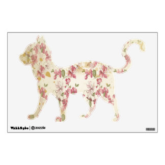 Vintage Cherry Blossoms Wall Decal