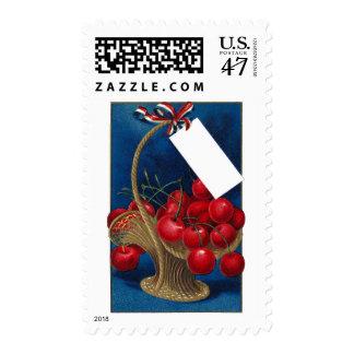 Vintage Cherry Gift Basket Postage